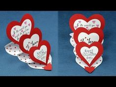 waterfall card tutorial step by step \ waterfall card ` waterfall card tutorial ` waterfall card tutorial step by step ` waterfall cardigan ` waterfall card game ` waterfall card template ` waterfall cardigan outfit ` waterfall cards ideas Homemade Valentine Cards, Diy Valentines Cards, Happy Valentines Day Card, Valentine Crafts, Homemade Cards, Valentine Heart, Diy Valentine's Cards For Him, Valentine's Cards For Kids, Cards Diy