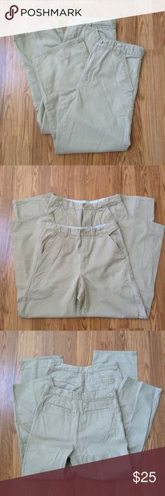 Tommy Hilfiger Youth Boys Chino Pants Bundle of 2 chino pants, zip fly. 100% cotton. Condition: good. Actual color of items may vary from picture. Tommy Hilfiger Bottoms Casual