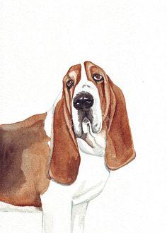 Dog Pet Portrait Custom painting  Splodgepodge by Splodgepodge,