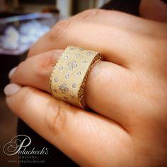 #yellowgold #wideband #RobertoCoin Roberto Coin #PrincessCollection #Fleurdelis