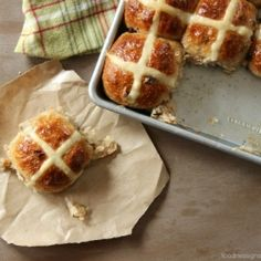 Sweet and spicy, these buns are a must for Easter.