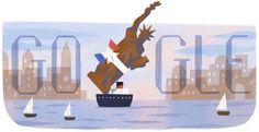 130.º aniversario del regalo de la Estatua de la Libertad a los Estados Unidos por parte de Francia