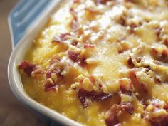 Trisha describes this side dish as a mashed potato casserole.      Doesn't it look delicious?      Sometimes the simplest of meals a...
