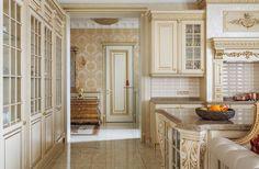 Фото интерьера столовой небольшого дома в классическом стиле