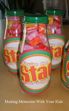 You're the Star of Our School {Teacher Appreciation} - Making Memories With Your Kids