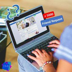 ¿Sabías que solo puedes tener 5 Mil amigos en tu perfil de Facebook? ¡Crea una FanPage para tu empresa y crece sin límites!  #RedesSociales #SocialMedia #MarketingDigital #MercadeoDigital #EmprendeDigital