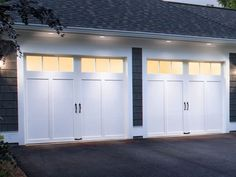 The Winning Doors! (minus the black hardware) Coachman Residential Clopay Garage Doors