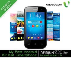 The #Videocon #Infinium Z30Lite comes powered with #Android KitKat 4.4, now multitask at ease. Have a look at our smartphone range here - http://www.videoconmobiles.com/smartphones