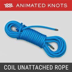 The coil should be well secured so that it will remain tidily coiled and can be used quickly and easily without tangles or twists. This technique of coiling a rope is known both as a Buntline and a Gasket Coil.