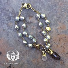 Faceted Smoky Quartz Resembles Excavated Drops Of Light In The New Mined Charms
