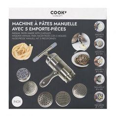 Πολυλειτουργικό εργαλείο παρασκευής ζυμαρικών 5 επιλογών Pasta Maker, Cooking, Food, Kitchen, Essen, Meals, Yemek, Brewing, Cuisine
