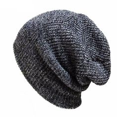 JimHappy Ferret Hat for Men and Women Winter Warm Hats Knit Slouchy Thick Skull Cap Black