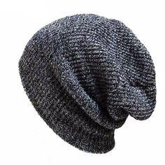 00e4876b5cf Beanies For Men   Women. Brand Bonnet Beanies Knitted Winter Hat Caps ...