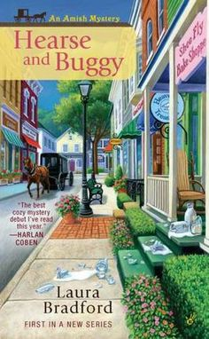 """1st in the Amish Mystery Series - (I bought this """"Cozy Mystery"""" to read in the hospital following my surgery.)"""