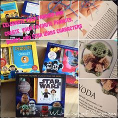 Whirlwind of Surprises: Celebrate #TheForceAwakens, #Disney, & #Peanuts with Adorable #Crochet Characters #ad #crafts #Star Wars #movies