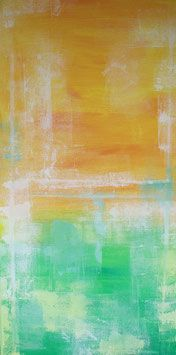 """""""Summertime"""" ist ein farbenfrohes Bild, das seinen Schwerpunkt auf helle und freundliche Farben hat. Es wirkt leicht, unbeschwert und sonnig.  #AbstrakteKunst #AbstrakteMalerei #AbstractArt #painting #art #artist #kunst #künstler #fineart #artwork #modernabstract #abstractexpressionism #contemporaryart #farbfeldmalerei #rothko #expressionismus"""
