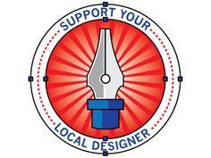 Support your local designer.