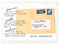 Introduction to some summertime postal-themed posting on my blog.