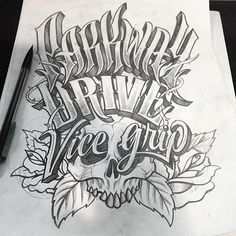 #parkway #drive by @friks84 #handmadefont