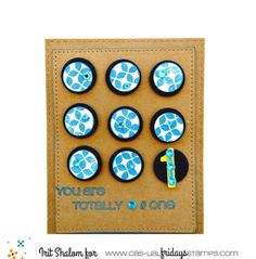 Modern Petals with Rad 2 available at www.cas-ualfridaysstamps.com