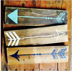 Wooden Arrow Wall Art by VintageandRooted on Etsy https://www.etsy.com/listing/249726137/wooden-arrow-wall-art