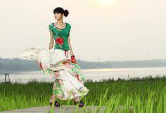 #Swanmarks Liebo skirt dress, Liebo long dress, liebo high class dress