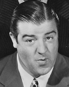 """Lou Costello (1906 - 1959) Comedian made famous in the popular team Abbott and Costello with routines such as """"Who's on First"""". Born in Paterson, NJ (376)"""