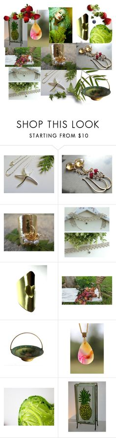 """Welcome Spring"" by anna-recycle ❤ liked on Polyvore featuring John Lewis, modern, rustic and vintage"
