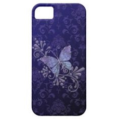 Jewel Butterfly iPhone 5 Case