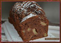 cakes aux poires et cacao