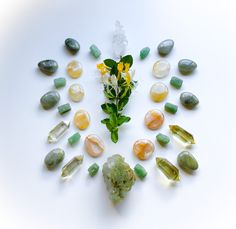 Crystal Grid, Quartz, Healing, Stud Earrings, Abundance, Conversation, Minerals, September, Stones