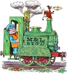 Ivor the Engine, Jones the Steam and Idris the Dragon. Created by Oliver Postgate and Peter Firmin 1980s Childhood, My Childhood Memories, Train Illustration, Illustration Styles, 70s Cartoons, Childhood Characters, Ladybird Books, Cartoon Tv, Cartoon Characters