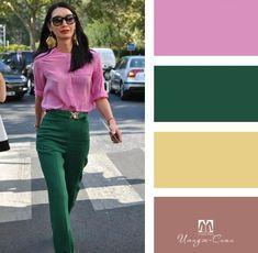Color combination scheme - Color combination scheme Source by - Colour Combinations Fashion, Color Combinations For Clothes, Color Blocking Outfits, Fashion Colours, Colorful Fashion, Color Combos, Mode Outfits, Casual Outfits, Fashion Outfits