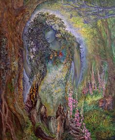 """Spirit of the Forest 1"" par Josephine Wall"