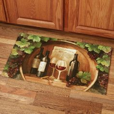 At the Winery Comfort Mat Multi Warm 30 x 18
