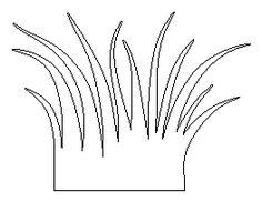 Grass Template For Kids - ClipArt Best   Craft: Felt trees Animals ...