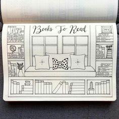 Book list idea (@bujo_blossoms)