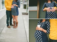 Village Date Maternity Shoot