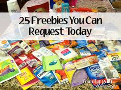 25 Legit Freebies You Can Request Today! A few are perfect for your Operation Christmas Child box!