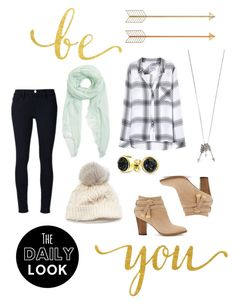 """""""Be you"""" by ginger-ness ❤ liked on Polyvore featuring WALL, Rails, Furla, White House Black Market, Frame, SIJJL, Bling Jewelry and Aéropostale"""