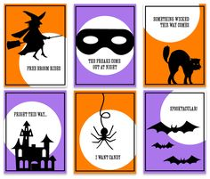 FREE Halloween Printables--great for gift tags or treat bags! Halloween Tags, Halloween Stickers, Halloween Pictures, Holidays Halloween, Halloween Crafts, Halloween Printable, Halloween Ideas, Happy Halloween, Halloween Decorations