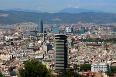 Barcelona view from Montjuic  Photo: Aurora Lorente