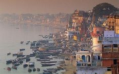 Varanasi, India - a holy city is one of the most extreme places I have ever seen. Unforgettable.