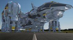 Prometheus Ship 1080p by hermond.deviantart.com on @DeviantArt