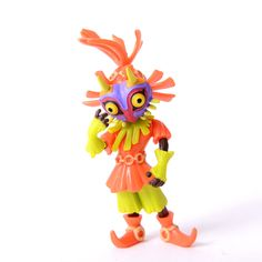 This adorable figure is a part of Wave 5 of the World of Nintendo product line! It includes a series of painted, semi-articulated PVC figures, each of which is approximately 2.5 inches tall and manufactured by Jakks Pacific. This particular figure is of Skull Kid from the popular entry in the Legend of Zelda franchise, The Legend of Zelda: Majora's Mask. Display it proudly on a desk or shelf!  #tokyootakumode #figure #The_Legend_of_Zelda_Series