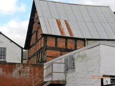 Dilapidated Tudor building, Leominster