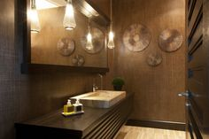Residential Project by Adriana Hoyos - Perezalaya #interiordesign #bathroom #luxury