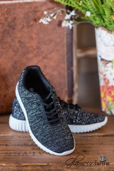 The Remy Tennis Shoe - Black #tennisshoes