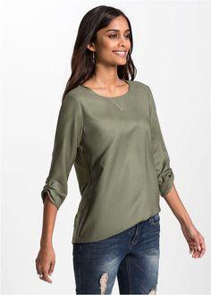 Shirt bluzkowy, rękawy 3/4 Atrakcyjny • 74.99 zł • bonprix