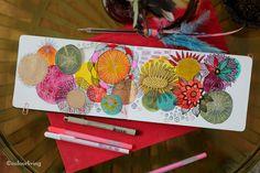 Sketchbook explorations with Lisa Congdon on Colourliving.co.uk blog